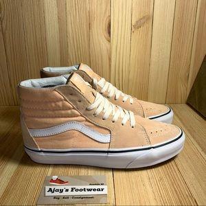 VANS Off The Wall SK8 Hi Peach Skate Women's Shoes